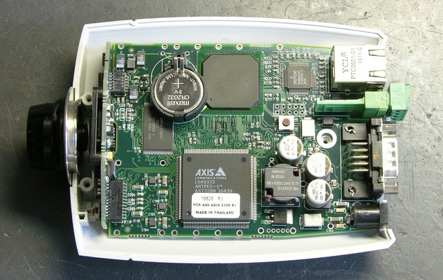 Axis 2100 network camera main PCB