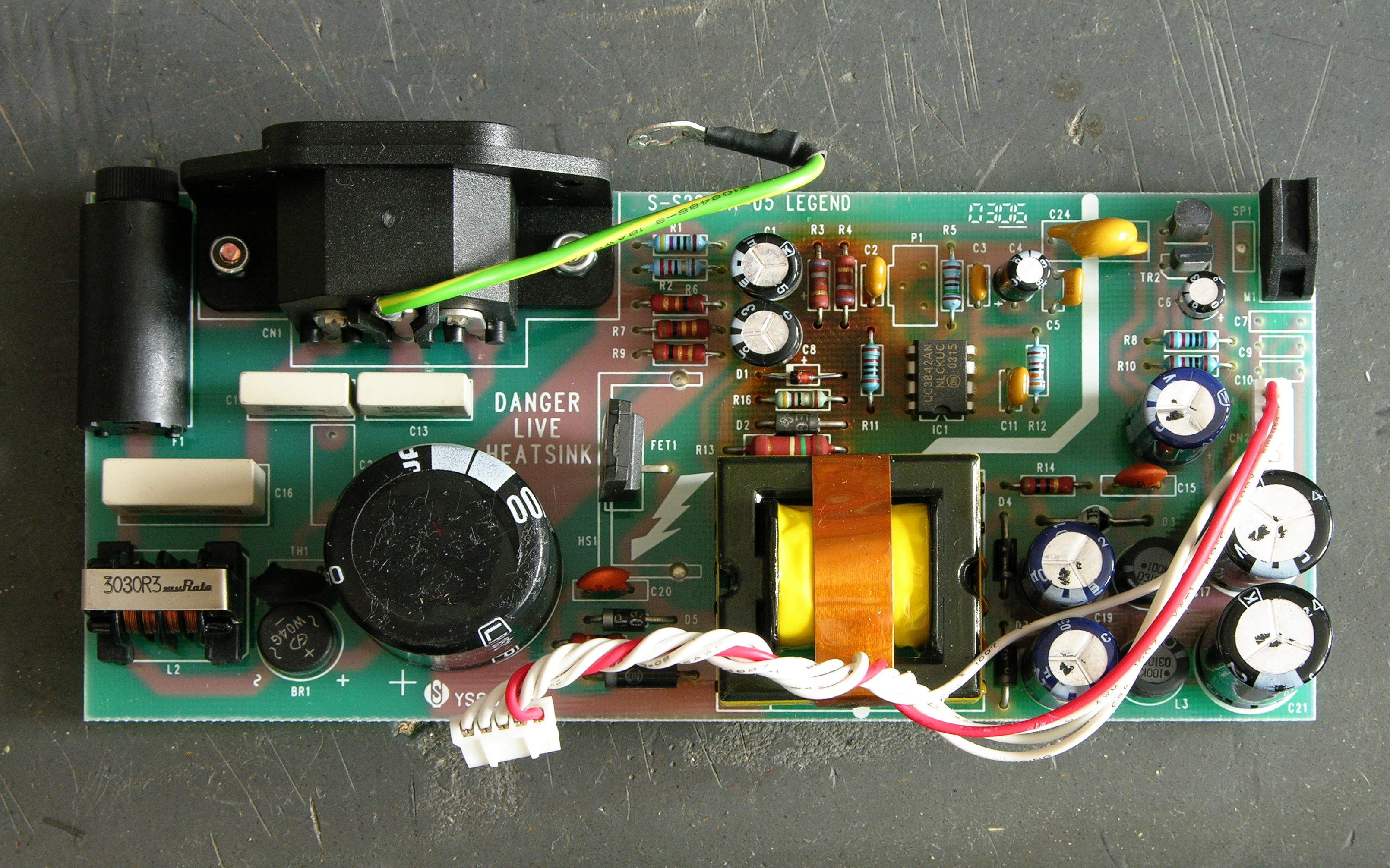 Repairing A Soundcraft Spirit E6 Mixer Switching Power Supply Volt 2 Amp Psu Single Ic Regulator Board
