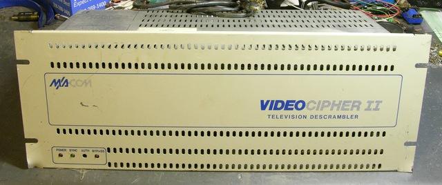 VideoCipher II television descrambler, front