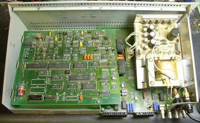 VideoCipher II television descrambler, interior