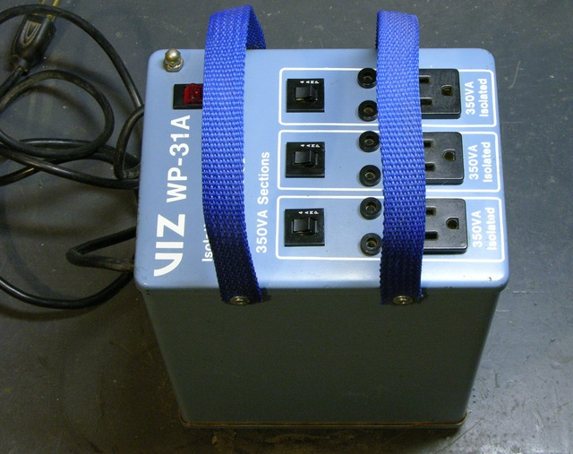 Viz WP-31A isolation transformer