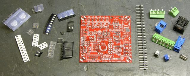 RepRap extruder controller electronics kit
