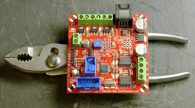 RepRap extruder controller