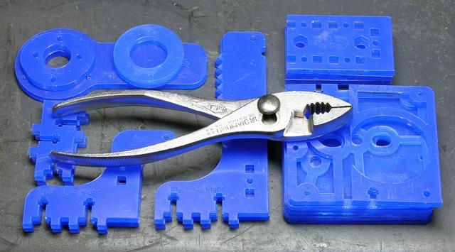 MakerBot CupCake extruder plexiglas parts