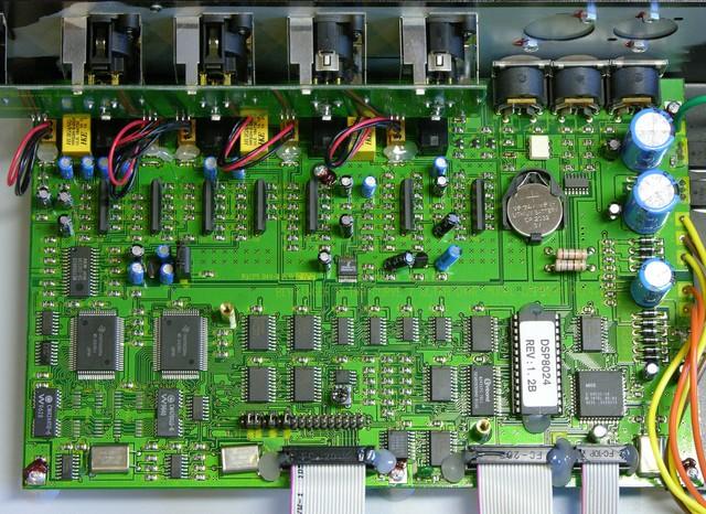 Behringer DSP8024 main board