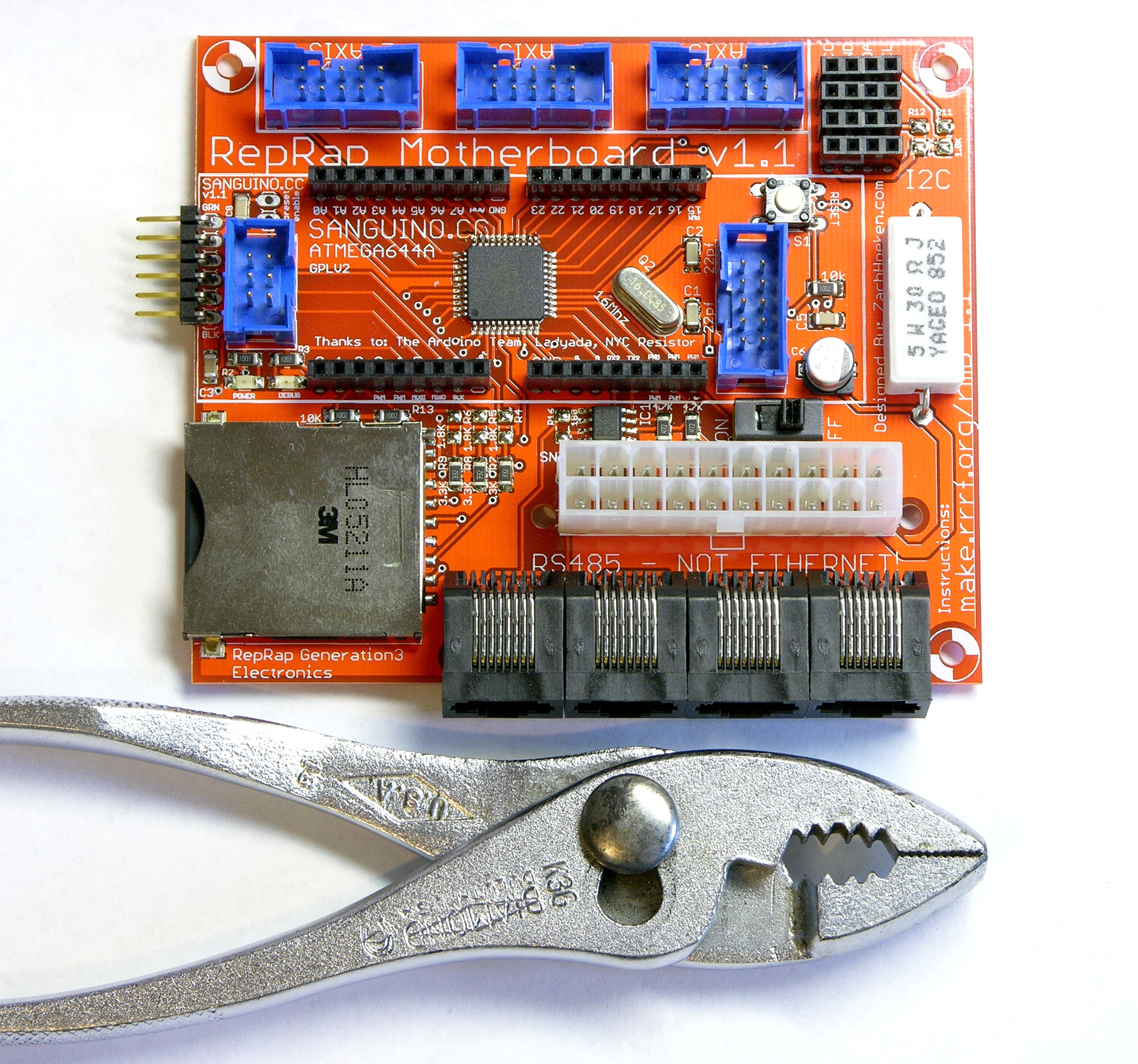 Led Clock Keiths Electronics Blog Constant Current Circuits Driver Master Category Mostly Assembled Cupcake Motherboard
