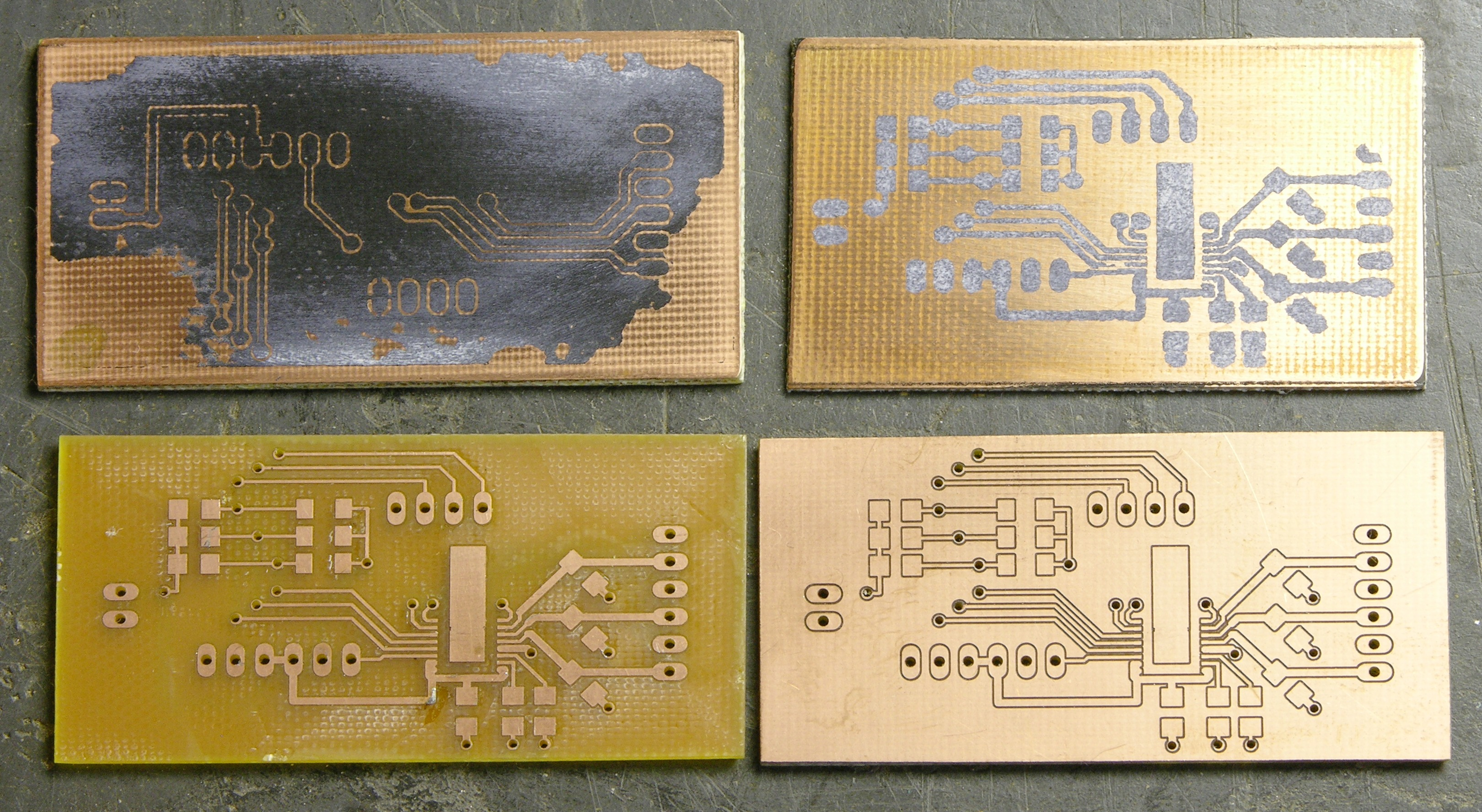 Circuits Keiths Electronics Blog Constant Current Drives Two 3 Watt Ledselectronics Project Circuts Circuit Boards Iron On Transfer Attempts Milled