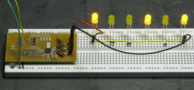LED string driver with LEDs shorted