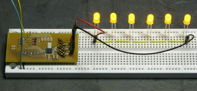 LED string driver, all LEDs on