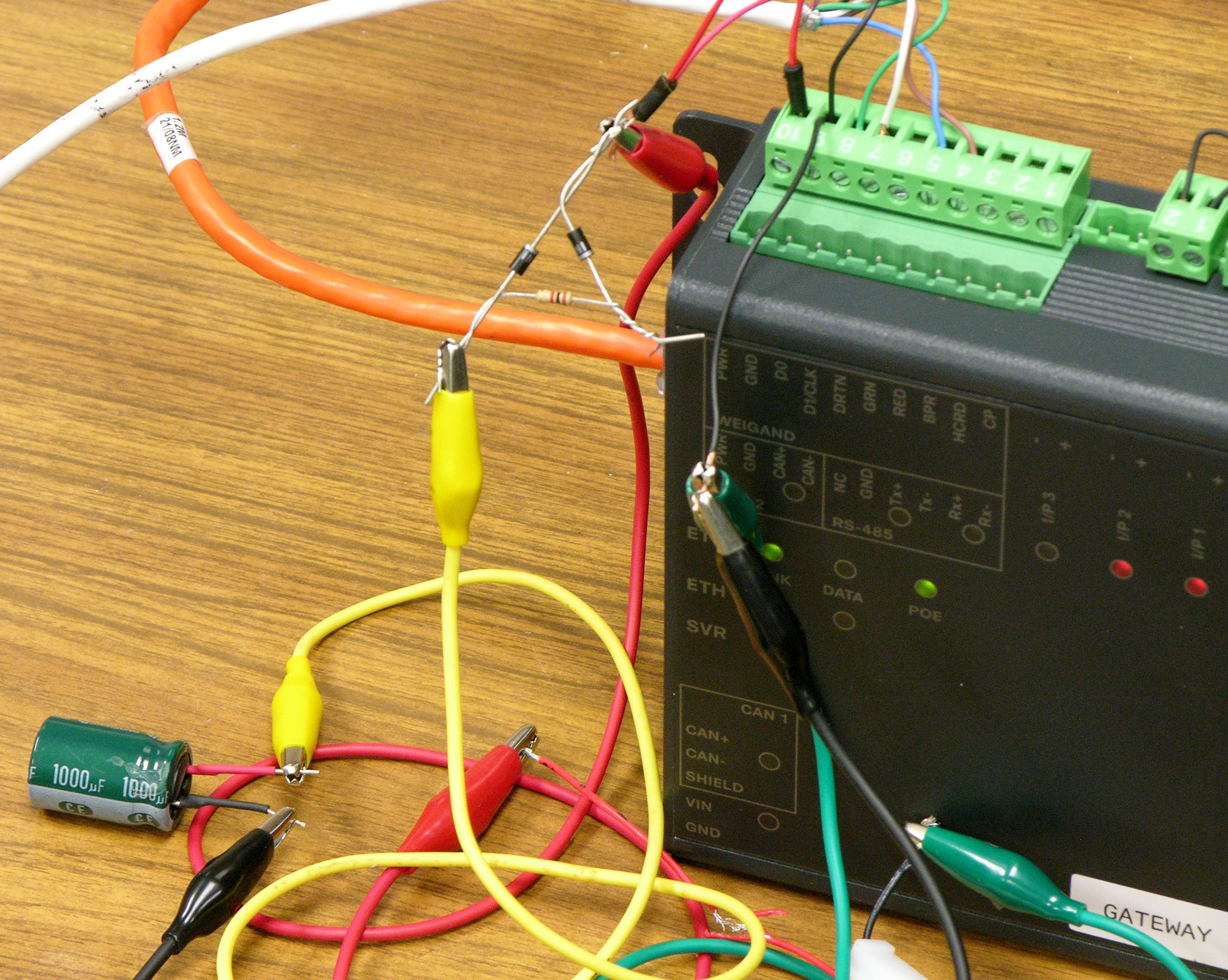 Keiths Electronics Blog Wiring Cnc Diagram Controller 4060z Diode Resistor Arrangement For Slow Filter Capacitor Charge