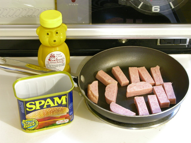 Frying Spam for lunch