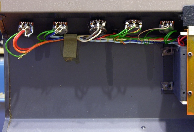 Panel-mounted controls