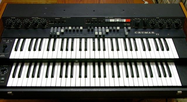 Crumar T2 Hammond organ clone