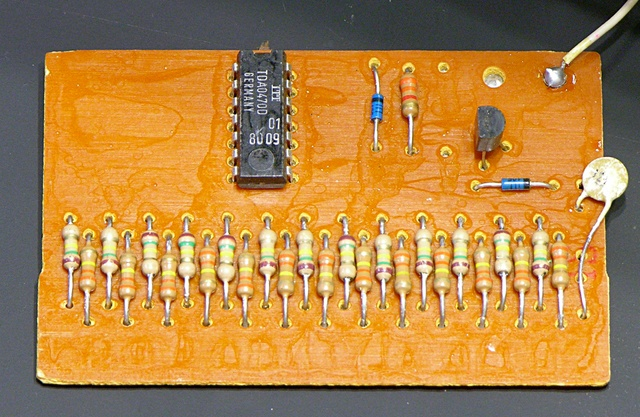 Crumar T2 keyboard gate PCB