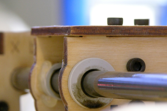 Warped MakerBot CupCake Y stage