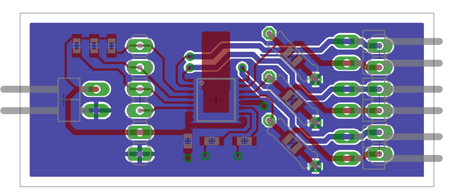 PC board layout for LED driver