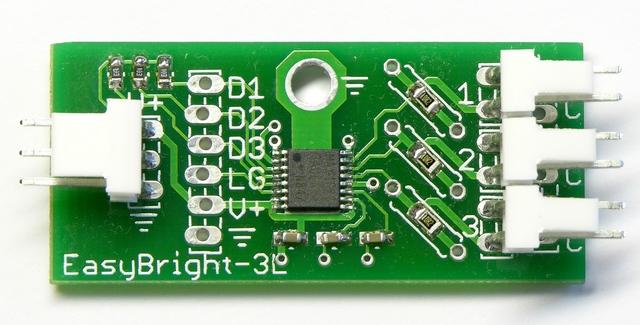 EasyBright-3L constant-current LED string driver, front