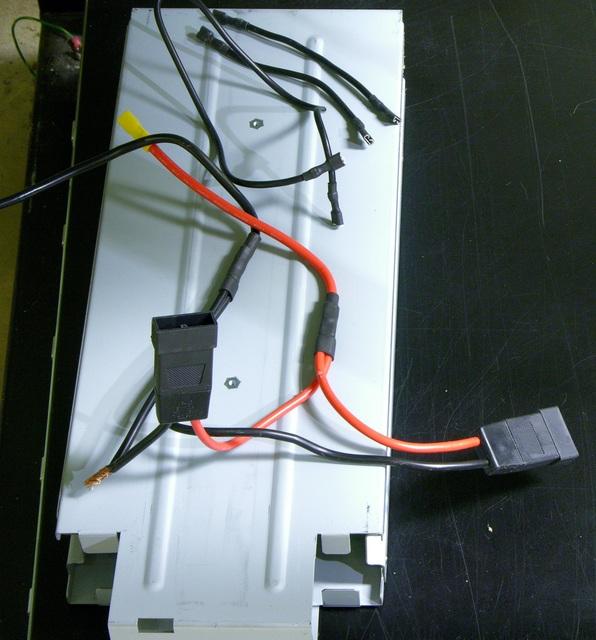 Liebert GXT2-2000RT120 UPS battery wiring