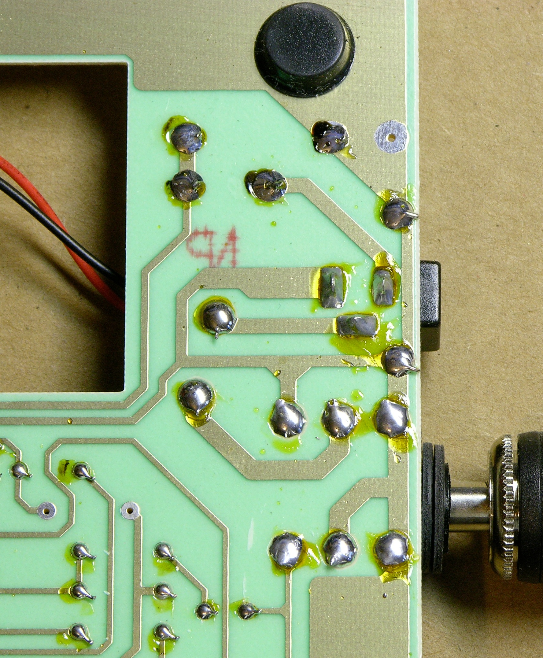 Repairing a Bad Horsie 2 Wah Pedal with Power Damage « Keith's