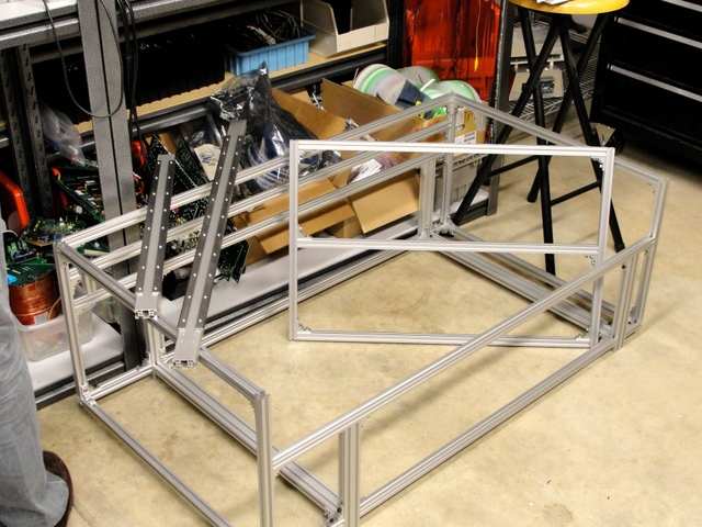 Scott Smith's laser cutter frame