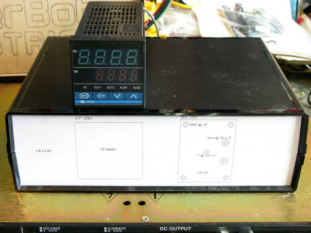 PID crockpot controller new front panel layout