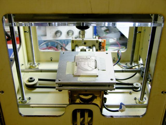 Leveling platform in MakerBot CupCake