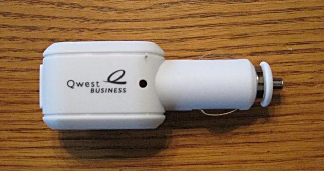 Automotive USB power adapter