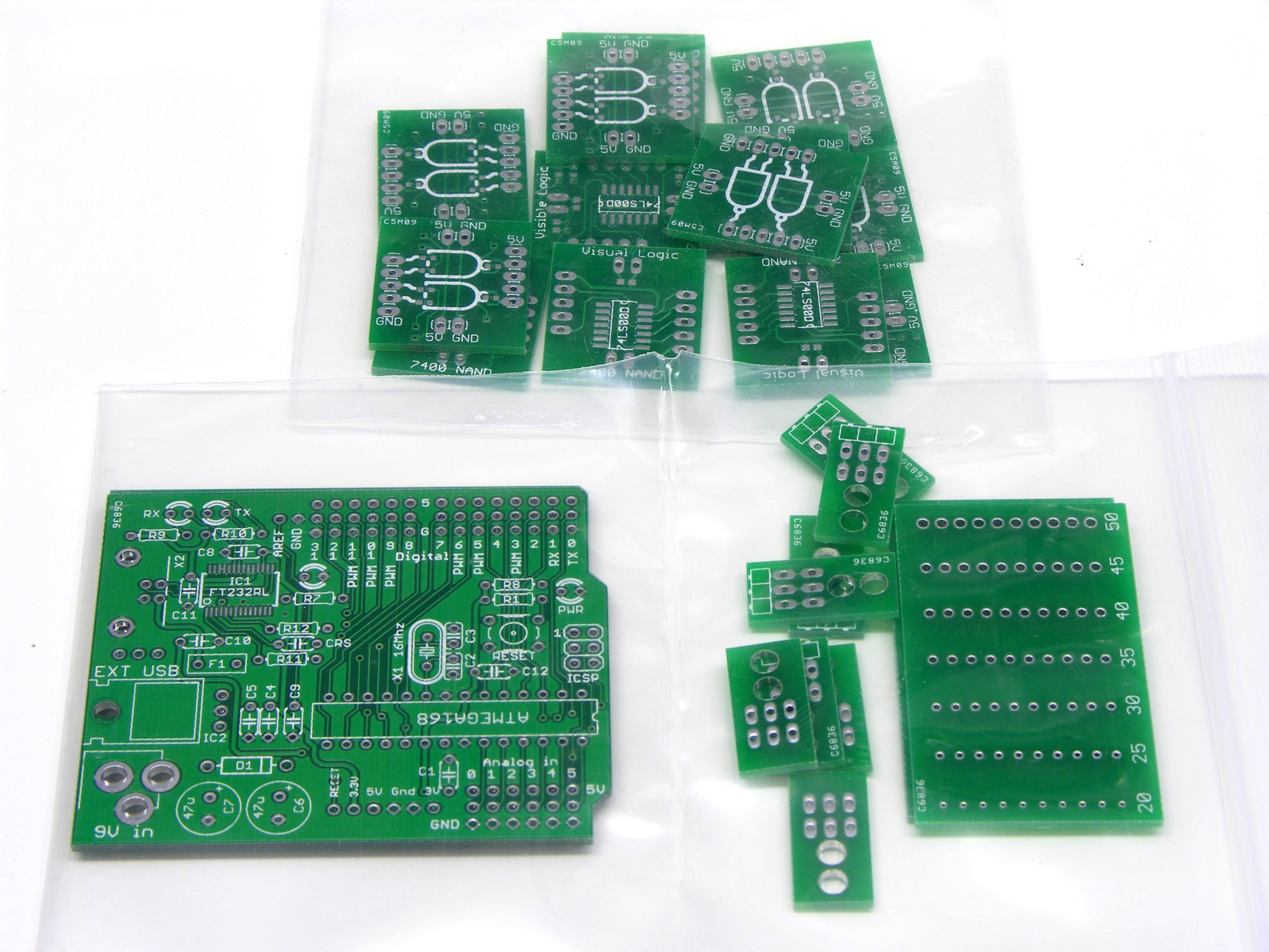 Circuits Keiths Electronics Blog Circuit Designs Just Hobby Using Led Electrical Boards From Batchpcb