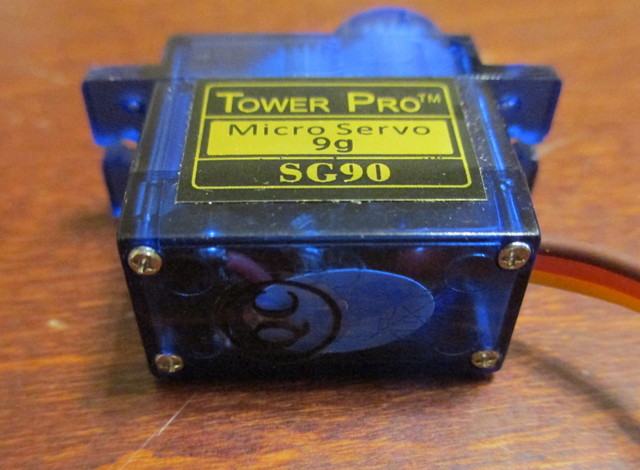 Tower SG90 Servo base with screws