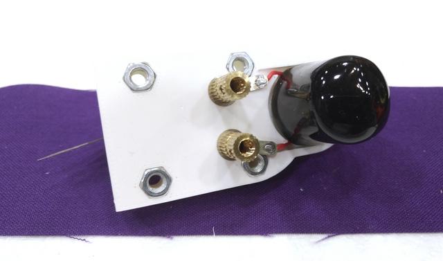 small DC motor mount