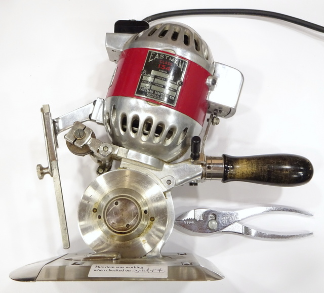 Eastman Class 134 rotary fabric cutter