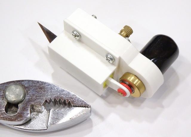 prototype reciprocating-blade cutterhead
