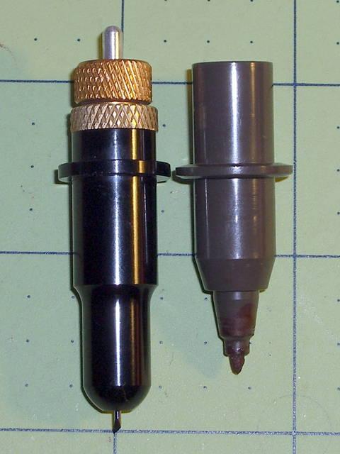 drag knife and plotter pen