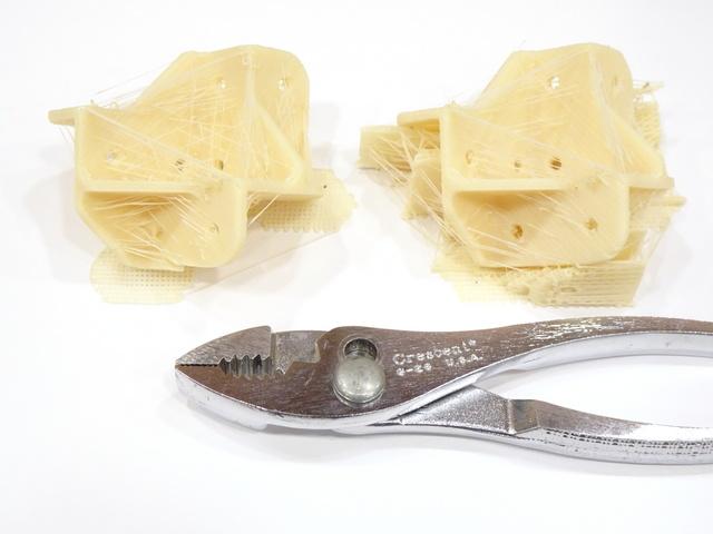 3D-printed brackets