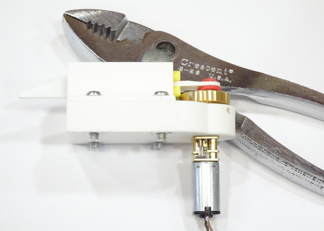 reciprocating cutter prototype