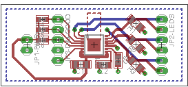 LED driver board layout