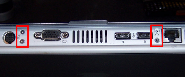 PowerBook G4 Back Edge Screws