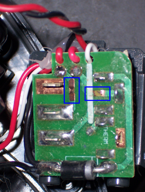 Roomba Power Distribution Board, Open Trace