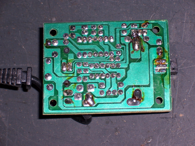Roomba Charger, Solder Side