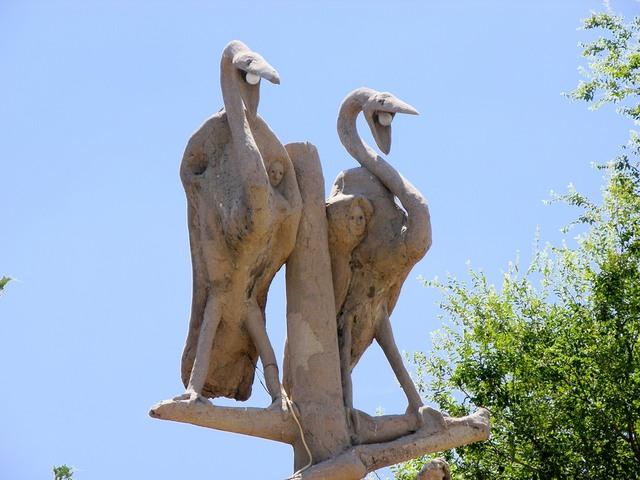 Garden of Eden, Lucas, KS: buzzard lights
