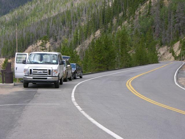 Rocky Mountain National Park: Many Parks Curve parking