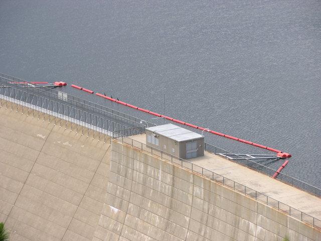 Gross Dam, Colorado: no-boating area