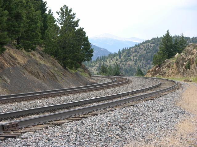 Eldorado Canyon State Park, Colorado: Union Pacific railroad