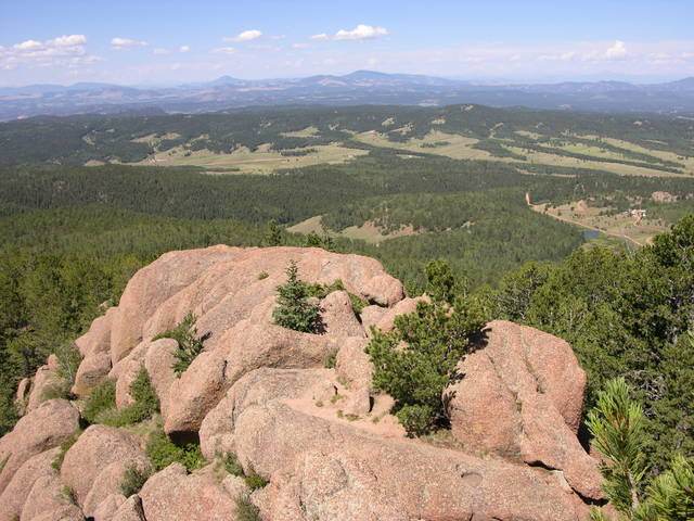 Top of Raspberry Mountain, Colorado