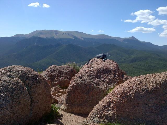Top of Raspberry Mountain, Colorado