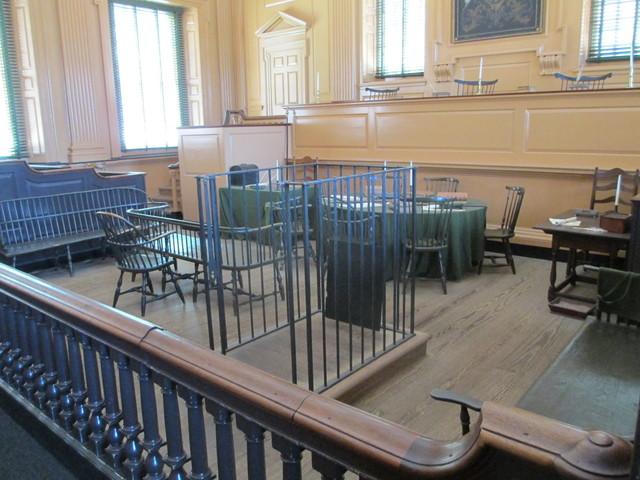 Independence Hall Supreme Court Room