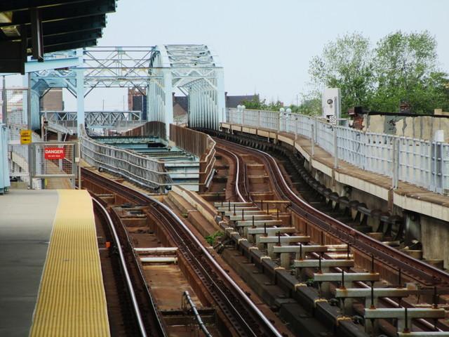Philadelphia's Huntingdon Station tracks