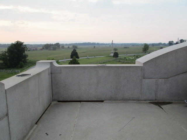 Pennsylvania State Memorial tower view