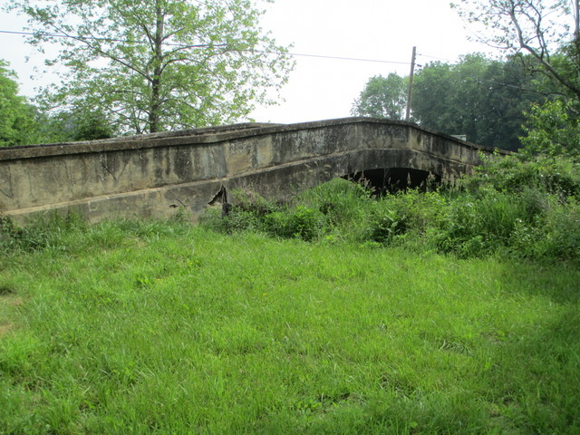 One-lane bridge in Maryland