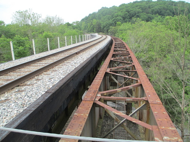 Railroad bridge in McCoy's Ferry area, Chesapeake and Ohio Canal National Historic Park